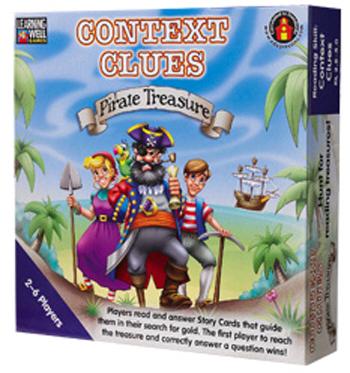 Edupress Lrn301 Context Clues Pirate Treasure Blue