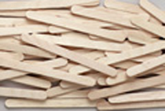 Chenille Kraft Company Ck-377401 Craft Sticks 1000 Pieces Natural-Economy Grade