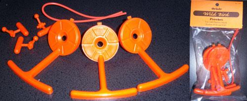 Songbird Essentials SEBCO430R Replacement Perch - Orange