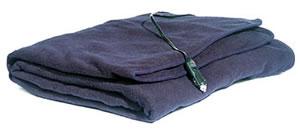 MAXSA Innovations 20013 Comfy Cruise 12V Heated Travel Blanket