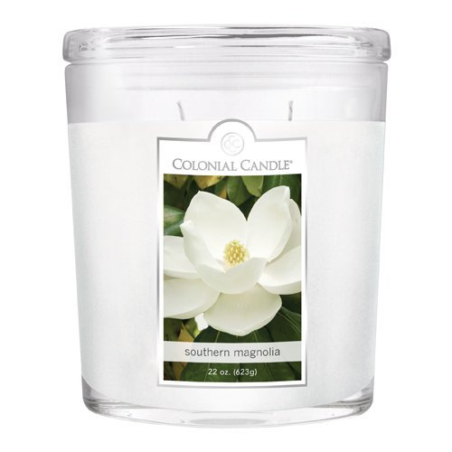 Fragranced in-line Container CC022.2179 22oz. Oval Southern Magnolia Candles - Pack of 2