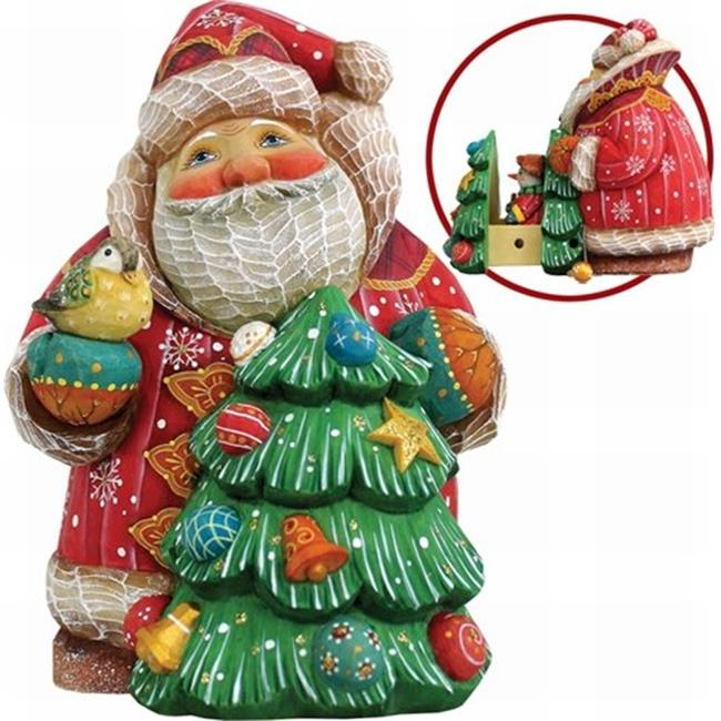 G Debrekht 519181 Derevo Collection Santa Surprise Box With Tree Secret Sno Ebay