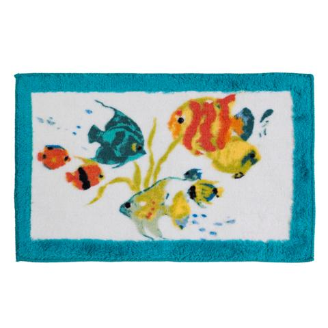 Creative Bath R1073MULT Rainbow Fish Rug