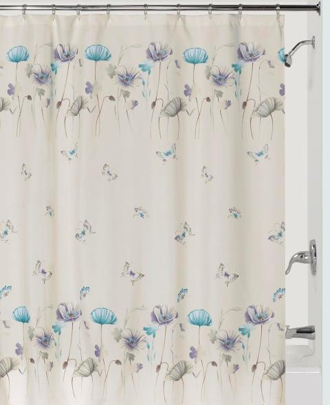Creative Bath S1072LIL Garden Gate Shower Curtain - Purple