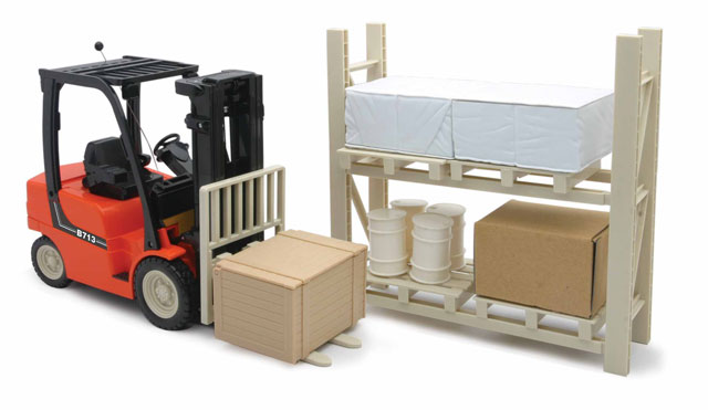 New Ray 87865 Remote Control Fork Lift with Pallets