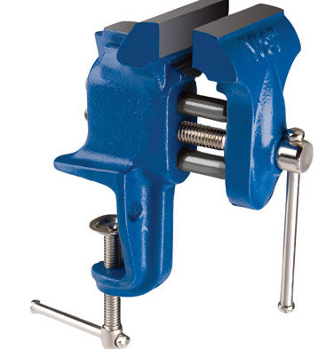 "Yost Vises 10250 1/2"" Clamp-On Bench Vise"