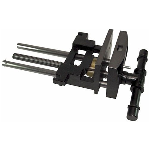 """Yost Vises 10017 9""""Jaw Cap Heavy-Duty Woodworkers Bench Vise"""