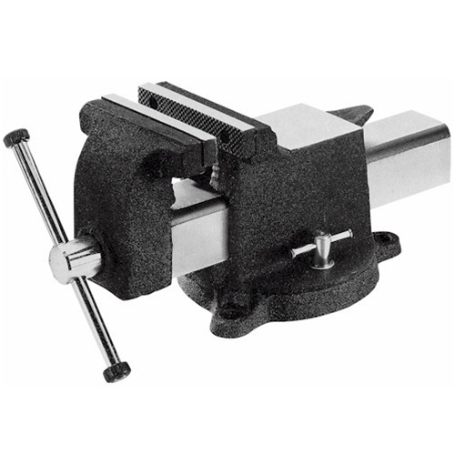 "Yost Vises 10906 6"" All Steel Utility Combination Pipe and Bench Vise - Black"