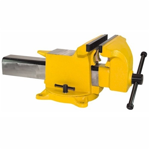 "Yost Vises 14910 10"" High Visibility All Steel Utility Combination Pipe and Bench Vise"
