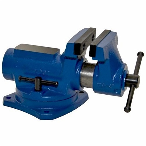 "Yost Vises 149332 Bench Vise with 4"" Jaw Width and 360 Swivel Base"