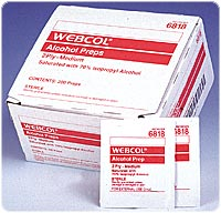 Kendall 686818 Alcohol Prep Wipes - Box of 200