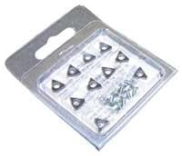 Ammco AMM6914-10 Negative Rake Carbide Insert - 10 Pack
