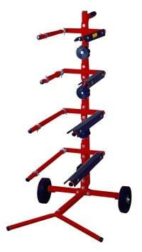 Astro Pneumatic ASTASMS2 16-22 Inch Masking Tree for 4 Paper Rolls and 4 Tape
