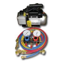 FJC FJCKIT6 Vacuum Pump and Manifold Gauge Set