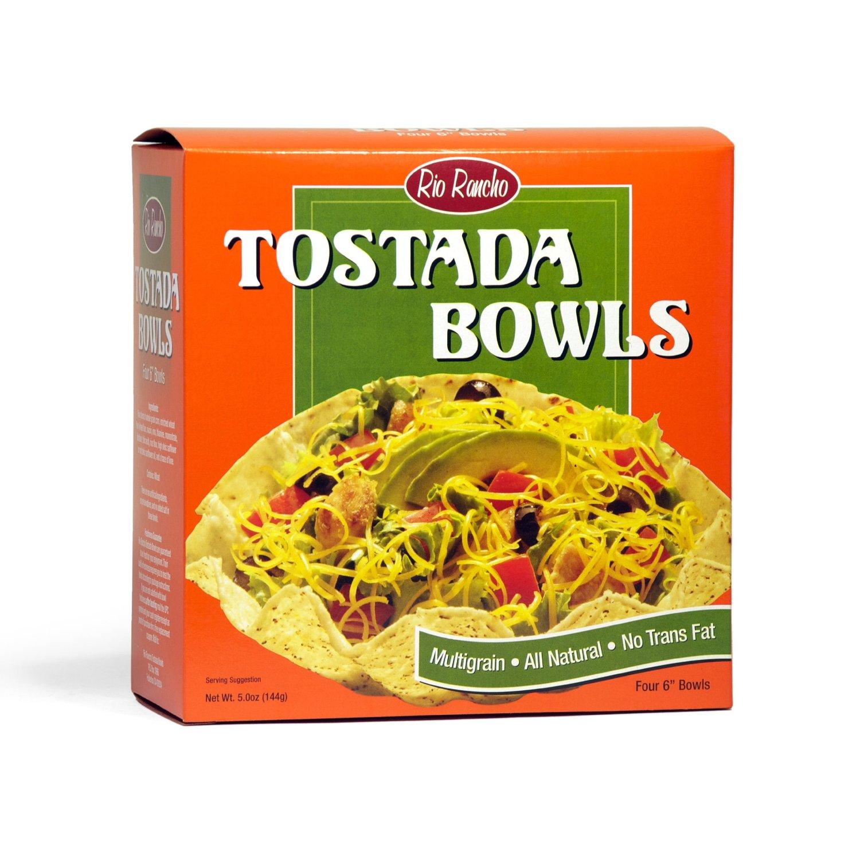 Rio Rancho B02408 Rio Rancho Tostada Bowls -6x4 Ct