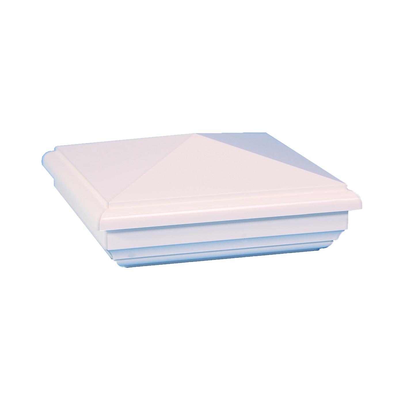 Classy Caps NE844 NEW ENGLAND PVC POST CAP 4X4 - White