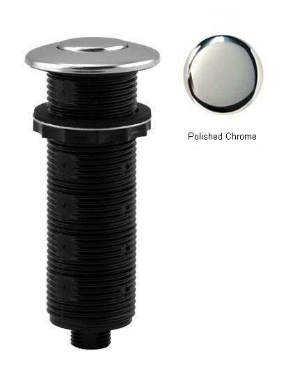 Westbrass ASB-B3-26 Replacement Air Switch Button - Polished Chrome