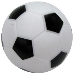 Boss Pet Products 51341 Vinyl Soccer Ball Dog Toy With Squeaker
