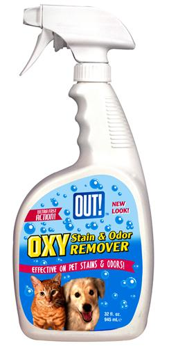 Out 70105 Oxy Pet Stain & Odor Remover