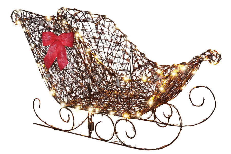 Costumes for all Occasions SS87989G Starry Night Grapevine Sleigh