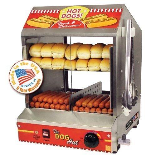 Paragon - Manufactured Fun 8020 Dog Hut Hot Dog Steamer