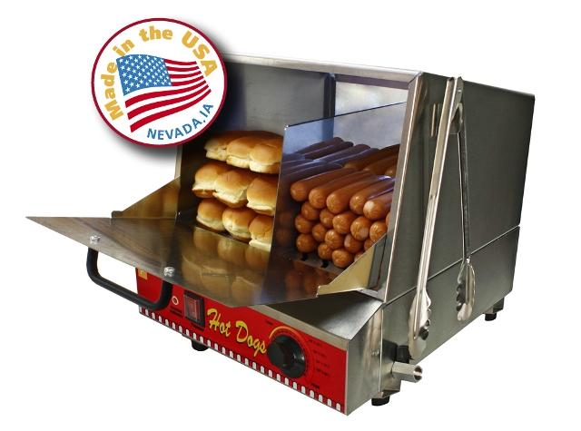 Paragon - Manufactured Fun 8080 Classic Dog Hot Dog Steamer