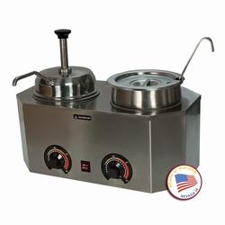 Paragon - Manufactured Fun 2029E Pro-Deluxe Warmer-Dual with Ladle and Pump
