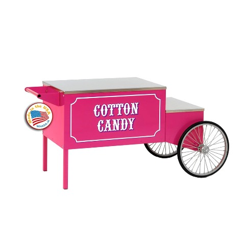 Paragon - Manufactured Fun 3060010 Large Cotton Candy Cart in Pink