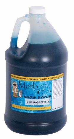 Paragon - Manufactured Fun 6302 Motla Snow Cone Syrup - Blue Raspberry