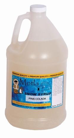 Paragon - Manufactured Fun 6313 Motla Snow Cone Syrup - Pina Colada