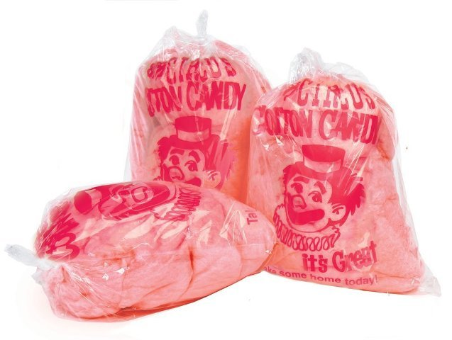 Paragon - Manufactured Fun 7850 Cotton Candy Bags with imprint