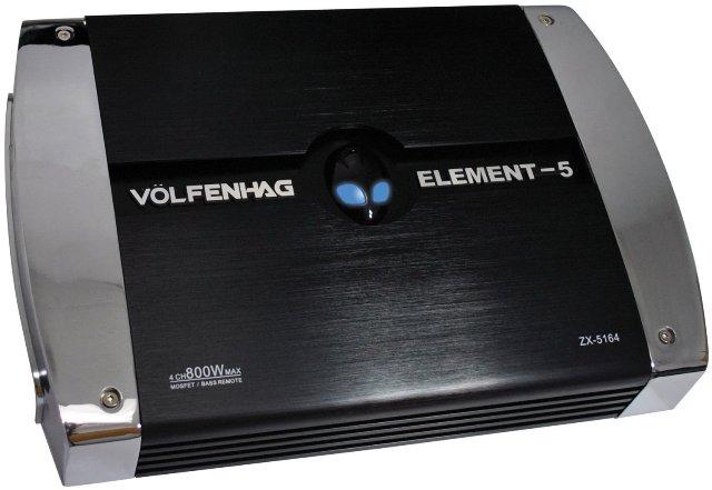 Volfenhag 4CH Amplifier, 800W Max