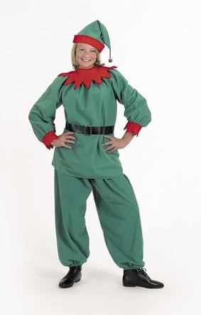 Halco 1192 Elf Suit- Size Adult 8-12