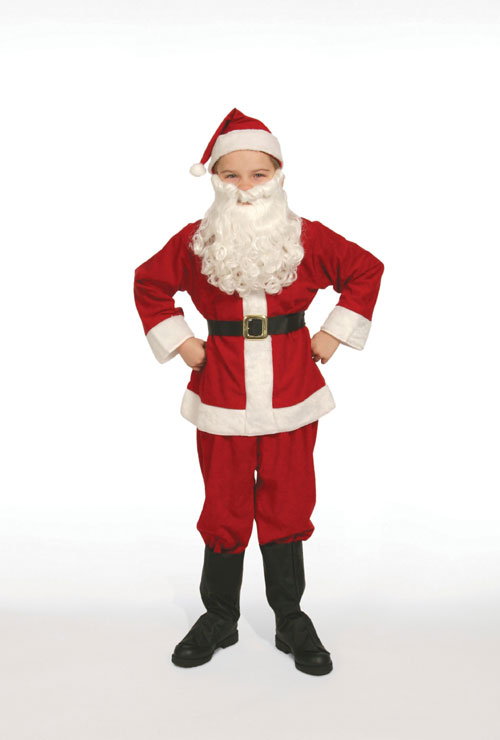 Halco 404 Economy Child Santa Suit- Size 4-6