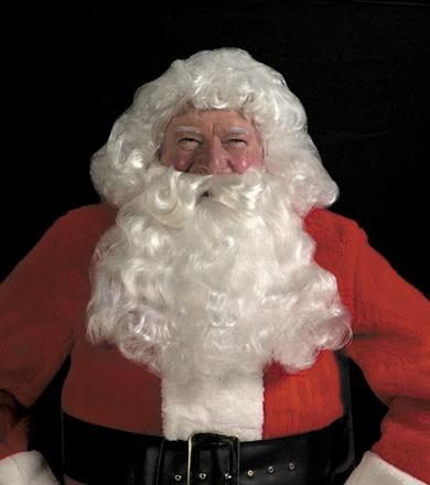 Halco 45 Deluxe Santa White Wig & Beard Set