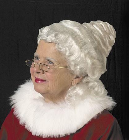 Halco 51 Mrs. Claus Wig - Mrs. Santa Claus Costume