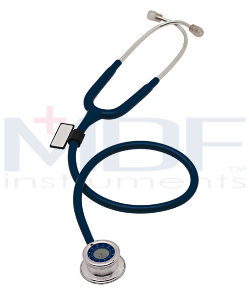 MDF Instruments MDF740BO Pulse Time Stethoscope -All Black -Adult