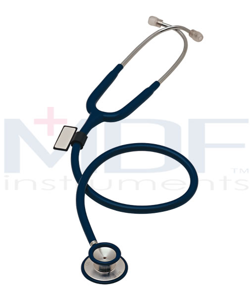 MDF Instruments MDF747XP11 Deluxe Dual Head Stethoscope -Black -Adult