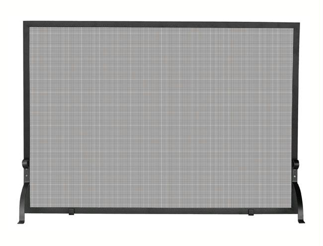UniFlame S-1158 Single Panel Olde World Iron Screen Small