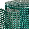 Koyal Wholesale 402048 Diamond Rhinestone Ribbon Wrap Roll - Aqua