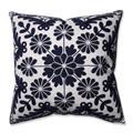 Pillow Perfect 598482 Sylvan Indigo 16.5 in. Throw Pillow, Blue