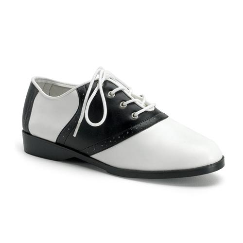 Funtasma Saddle-50 Flat Saddle Shoes Size 6