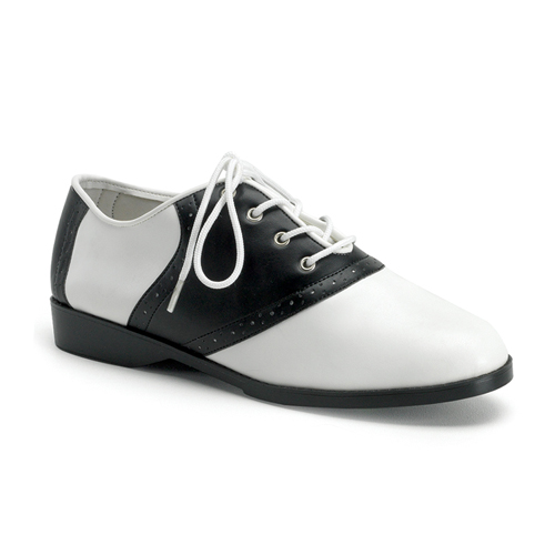 Funtasma Saddle-50 Flat Saddle Shoes Size 8