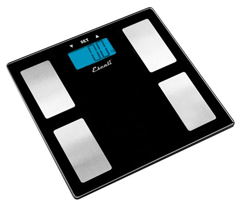 Escali USHM180G Glass Body Fat - Water - Muscle Mass Scale - 400Lb - 180 Kg