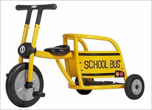 Italtrike 300-19 SB Yellow Bus Tricycle