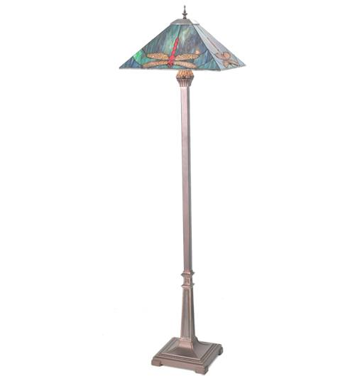 Meyda 99763 Mission Dragonfly Floor Lamp