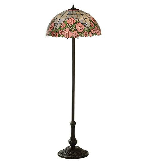 "Meyda 81721 63""H Cabbage Rose Floor Lamp"