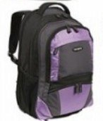 Samsonite 17878-1931 Computer Compatible Wheeled Backpack - Black-Bordeaux