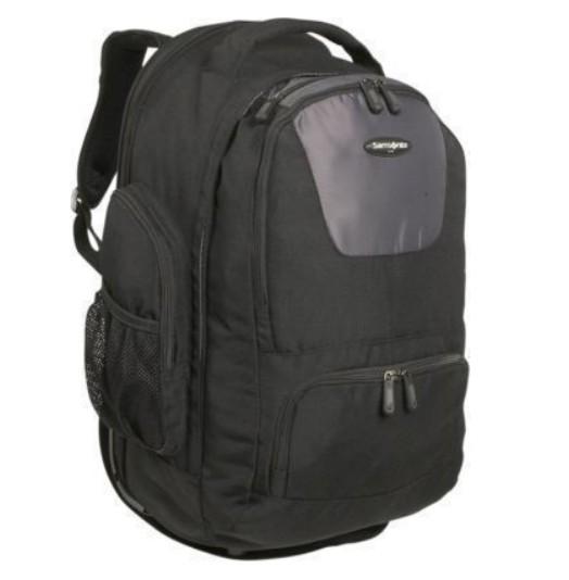 Samsonite 17896-1053 Wheeled Backpack - Black-Charcoal