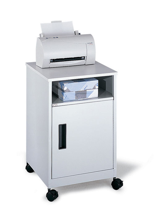 Safco 1871GR Compact Machine Stand in Gray